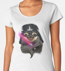 DARTH SLOTH Women's Premium T-Shirt