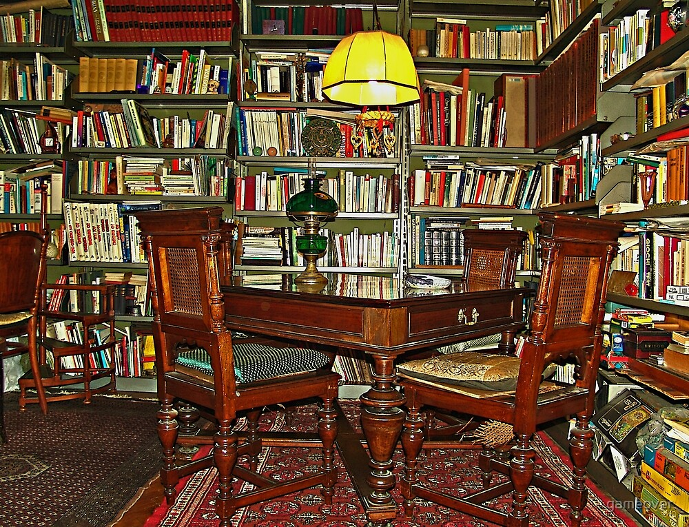 My lair full of books by gameover