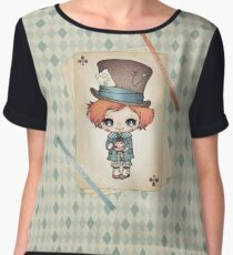 The Mad Hatter Chiffon Top