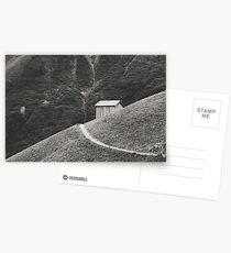 HILLSIDE HUT Postkarten