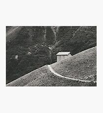 HILLSIDE HUT Photographic Print