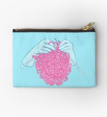 Knitting a brain Studio Pouch
