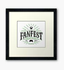Xbox E3 2017 FanFest (Light BG Version) Framed Print