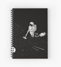Cuaderno de espiral Limpia el espacio