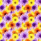 Mixed Flower Pattern  by LoneAngel