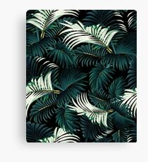 TROPICAL JUNGLE - Night Canvas Print