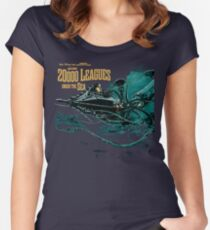 20000 leagues under sea JV  Women's Fitted Scoop T-Shirt