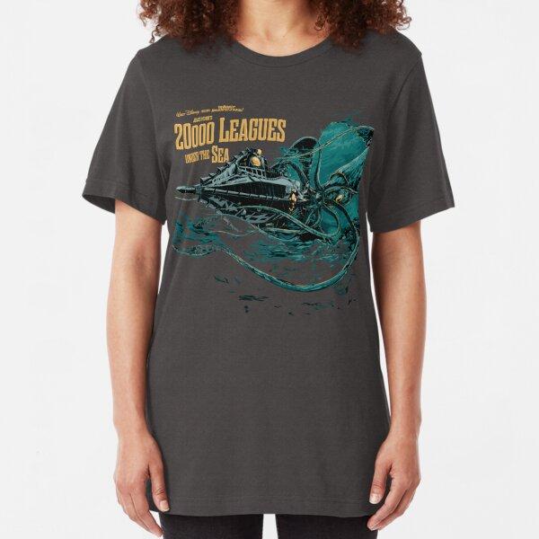 20000 leagues under sea JV  Slim Fit T-Shirt