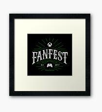Xbox E3 2017 FanFest (Dark BG Version) Framed Print