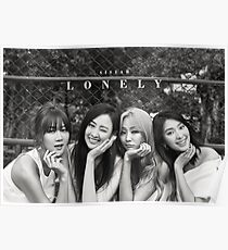 SISTAR Lonely Poster