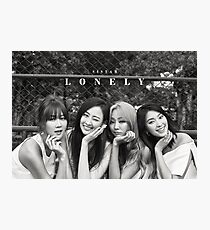 SISTAR Lonely Photographic Print