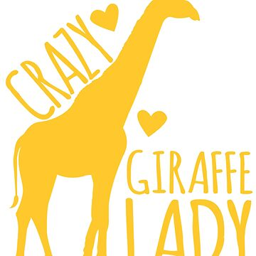 CRAZY Giraffe Lady  by jazzydevil