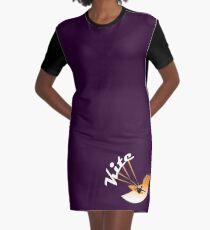 Just Kite Graphic T-Shirt Dress