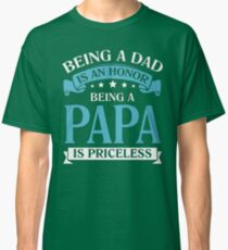 Father Day Shirt Classic T-Shirt