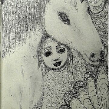 Mum and the Unicorn by MardiGCalero