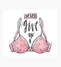 breast cancer support Photographic Print