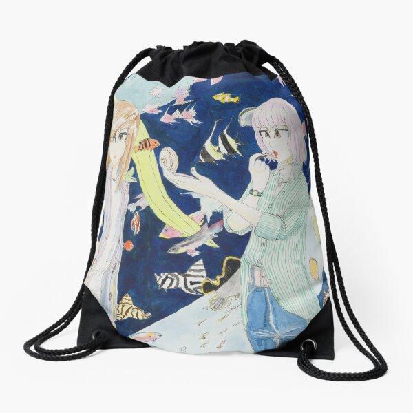 Aquarium Drawstring Bag
