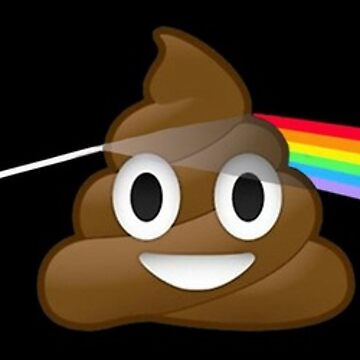 Dark side of the poop! by glenno