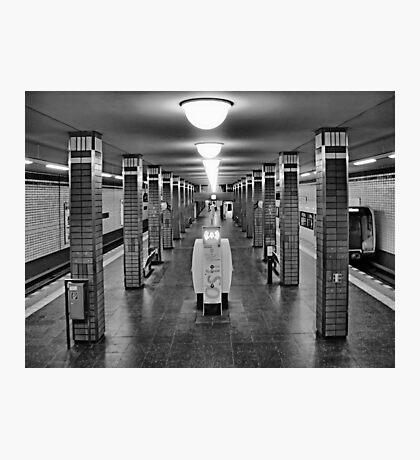 Berlin Underground Photographic Print