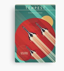 Fly With the Tempest Canvas Print