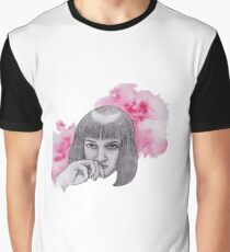 Mia Wallace limited edition print Graphic T-Shirt