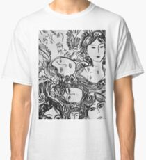 Save your dreams b&n drawing  Classic T-Shirt