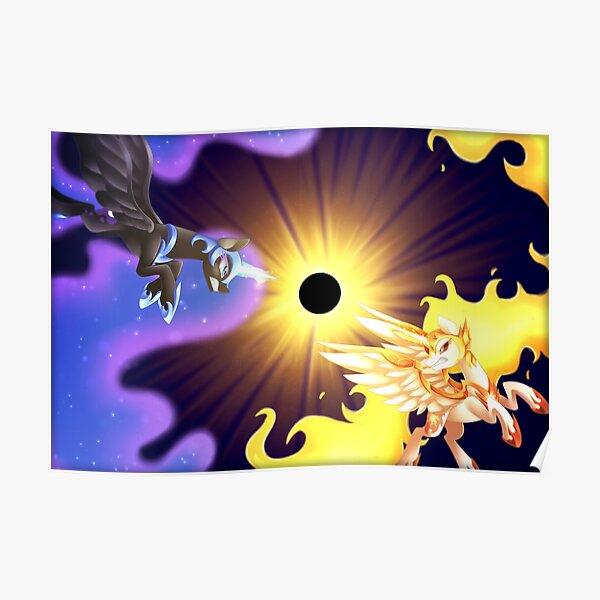 Daybreaker Vs Nightmare Moon Poster