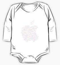 WWDC 2016 ASCII Logo (Dark Version, Small Font Size) Kids Clothes