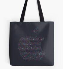 WWDC 2016 ASCII Logo (Dark Version, Small Font Size) Tote Bag