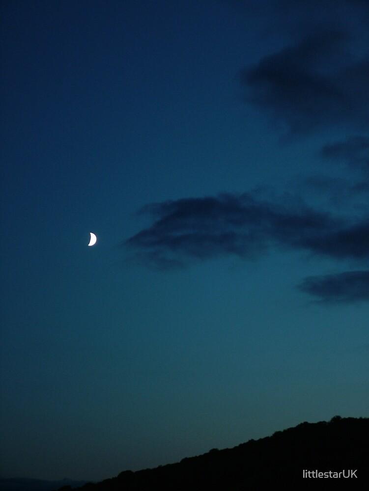 Blue Sky Moon by littlestarUK