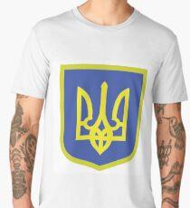 Coat of Arms of Ukraine Men's Premium T-Shirt