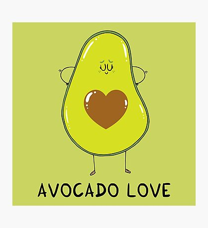 Avocado Love Photographic Print
