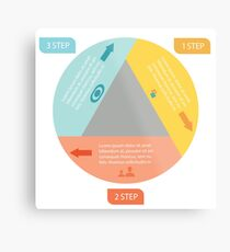 info graphic elements Metal Print