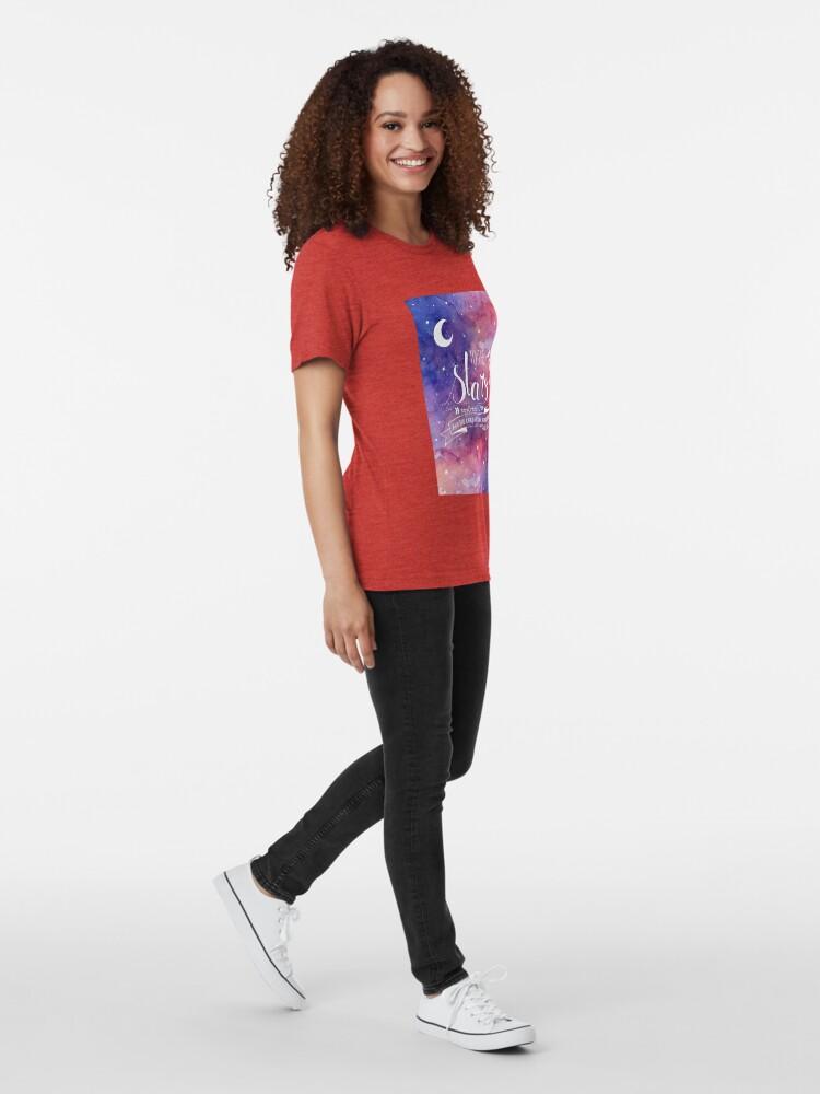 Alternative Ansicht von Zu den Sternen ACOMAF-Zitat Vintage T-Shirt