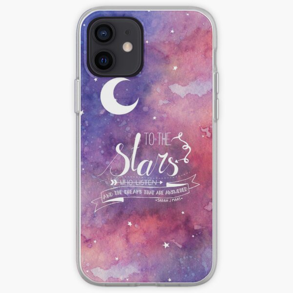 To the stars ACOMAF Quote iPhone Soft Case