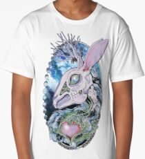 Jackalope Skeleton by Ardent Shadows Long T-Shirt