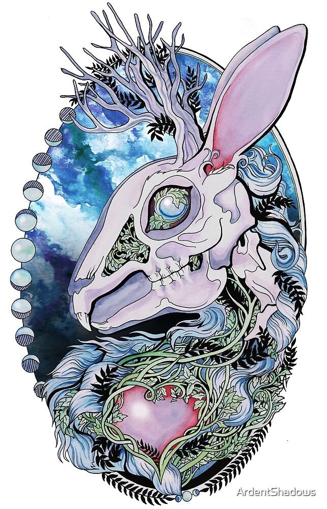 Jackalope Skeleton by Ardent Shadows by ArdentShadows