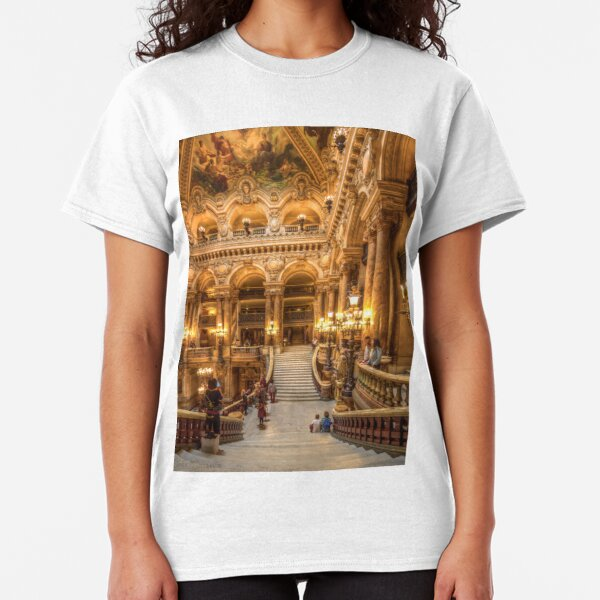 Opera House, Paris 4 Classic T-Shirt