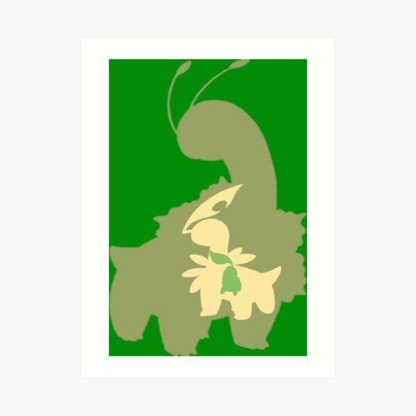 The Grass Starter Gen 2 Art Print
