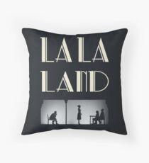 La La Land - Movie Style Poster Throw Pillow