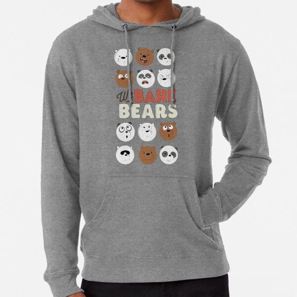 We Bare Bears Sudadera ligera con capucha