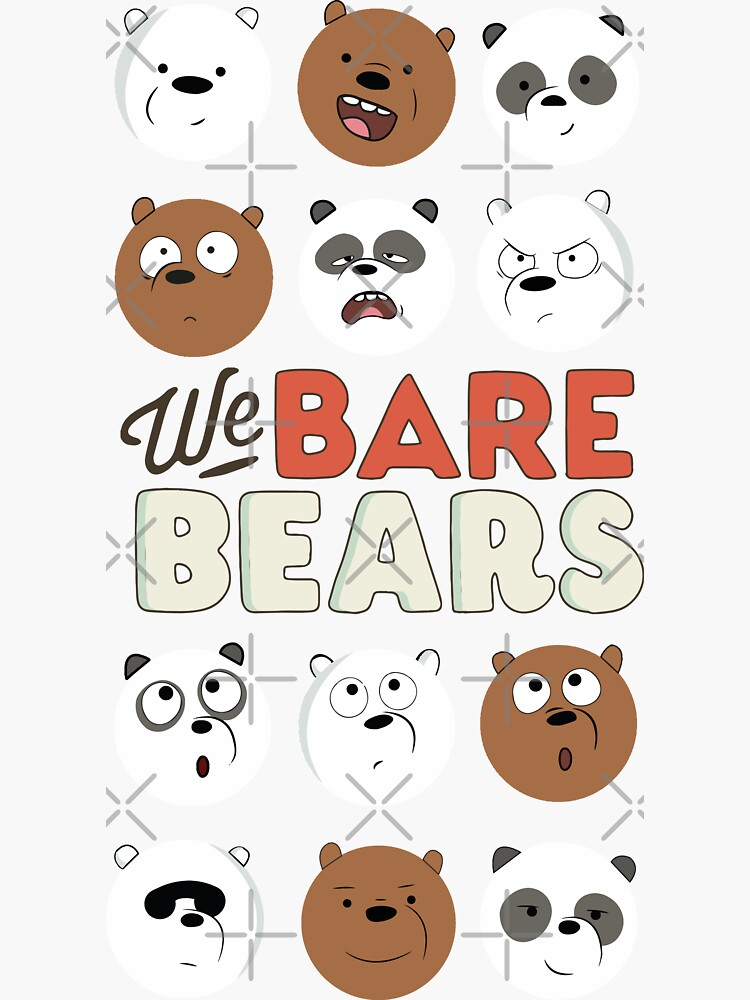 We Bare Bears by DalyRincon