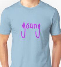 """""""young"""" handwritten Unisex T-Shirt"""