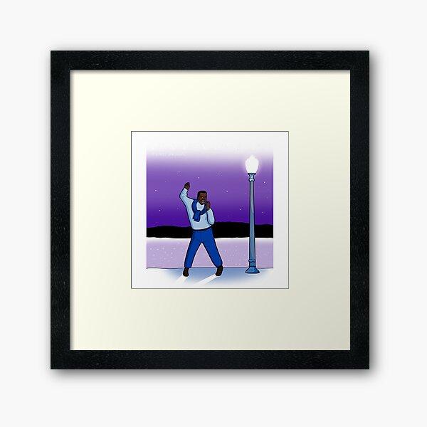 BA BA BANKS Framed Art Print
