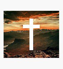 Christian Cross Photographic Print