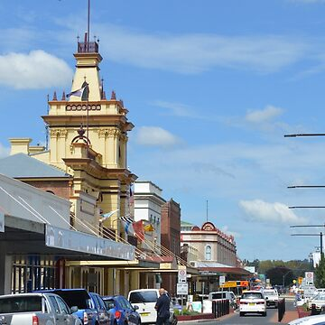 Busy day in Glen Innes by kllebou