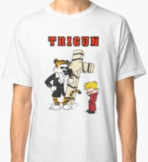 calvin and hobbes trigun Classic T-Shirt
