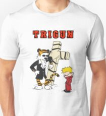 calvin and hobbes trigun Unisex T-Shirt