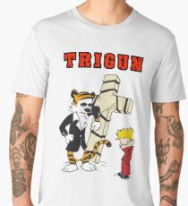 calvin and hobbes trigun Men's Premium T-Shirt