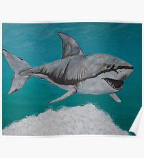 Sky Shark Poster